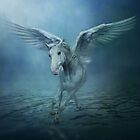 White Horse Wings by Cliff Vestergaard