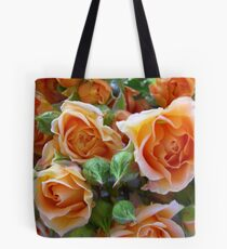 Roses and Buds Tote Bag