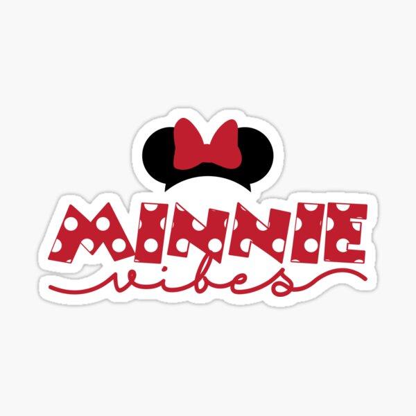 Minnie Vibes Pegatina