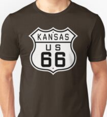 Kansas Route 66 T-Shirt