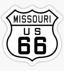 Missouri Route 66 Sticker
