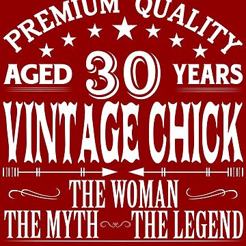 VINTAGE CHICK AGED 30 YEARS by parliament