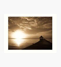 Caribbean Sunrise Art Print