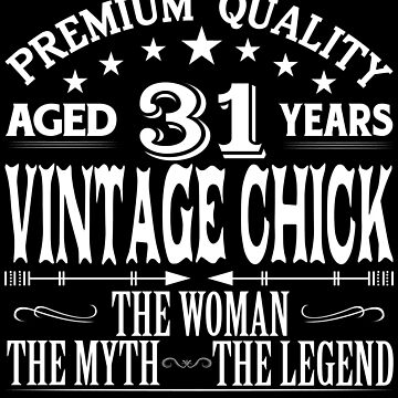 VINTAGE CHICK AGED 31 YEARS by parliament
