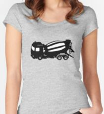 truck top truck top Women's Fitted Scoop T-Shirt