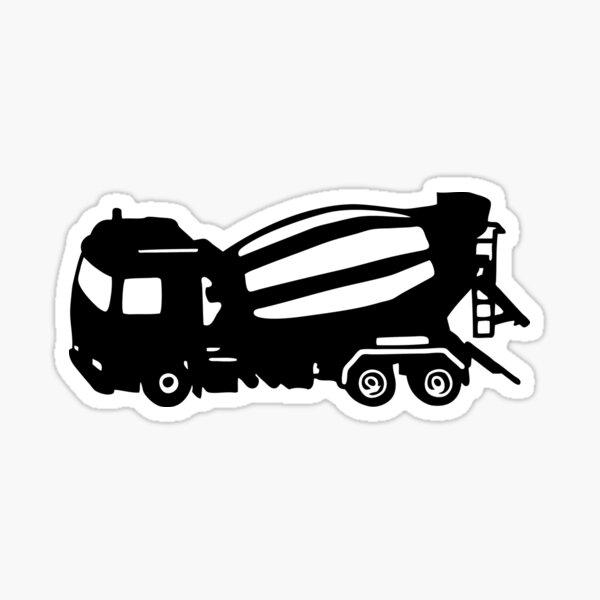 truck top truck top Sticker