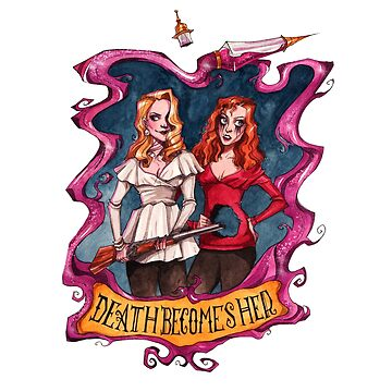 Death Becomes Her by Tally-Todd