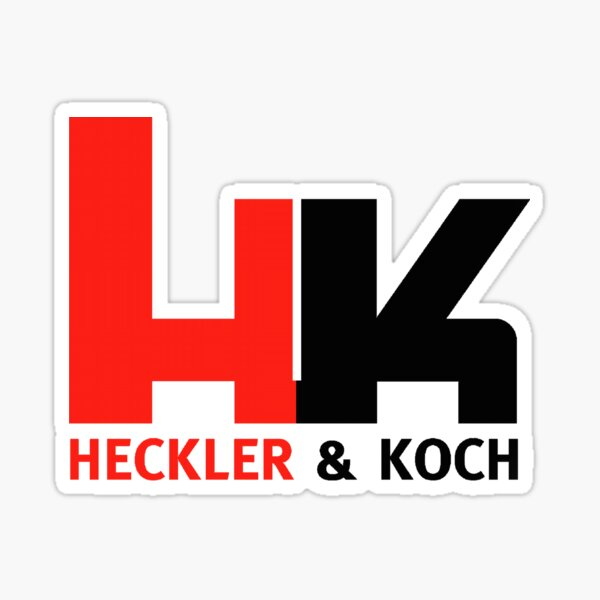 Heckler Koch Sticker