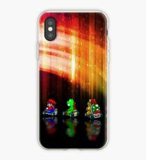 Super Mario Kart pixel art iPhone Case