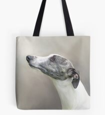 Whippet in Profile Tote Bag
