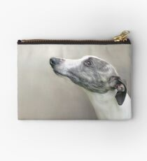 Whippet in Profile Studio Pouch