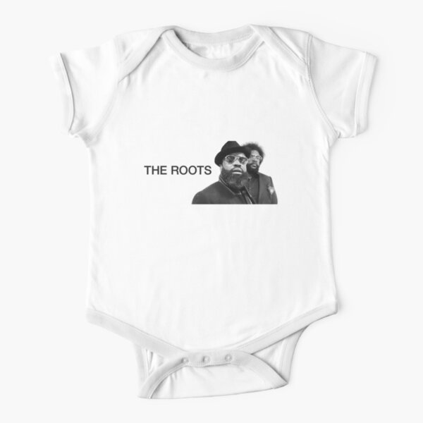 The Roots Hip Hop  Short Sleeve Baby One-Piece