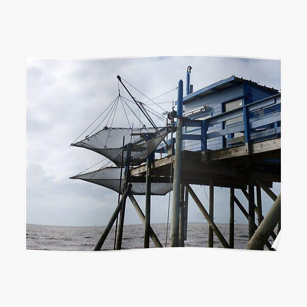 Cabanon de pêcheur  Poster