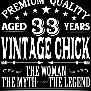 VINTAGE CHICK AGED 33 YEARS by parliament