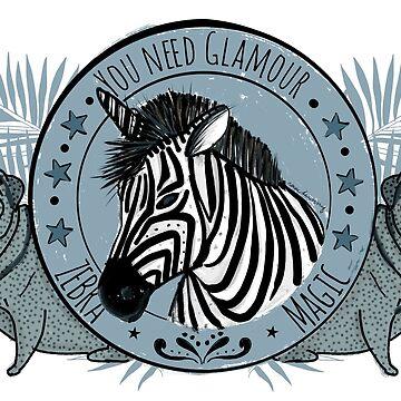 Zebrazauber von rauschsinnig
