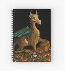 Dragon and his Treasure Spiral Notebook