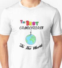 The Best grandchildren in the World, grandchildren  Unisex T-Shirt