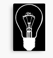 Lumineers Lightbulb (white) Canvas Print