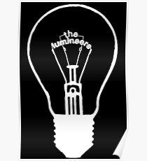 Lumineers Lightbulb (blanc) Poster