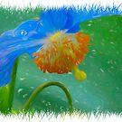 Blue Petals by Focal-Art