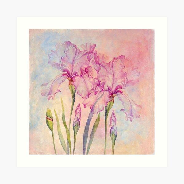 Angel Iris - Pure of Heart Art Print