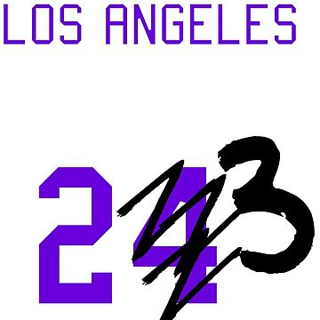 Forget #24... Los Angeles T-Shirt (Purple) by PopCultureClub