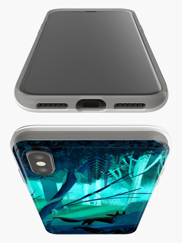 Alternate view of Shadow Wolves Stalk The Silver Wood iPhone Case & Cover
