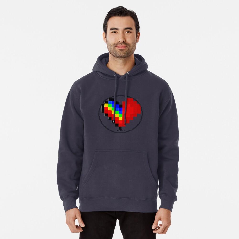 Emoji Heart 1 by RootCat Pullover Hoodie