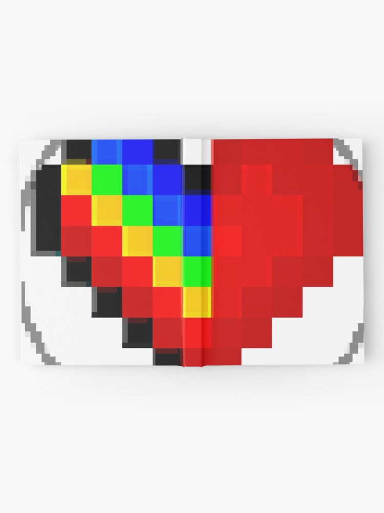 Alternate view of Emoji Heart 1 by RootCat Hardcover Journal