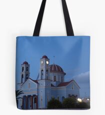 Timios Stavros church, Alikianos Chania Tote Bag