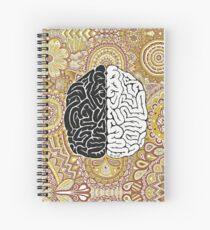 Cerebro grande Cuaderno de espiral