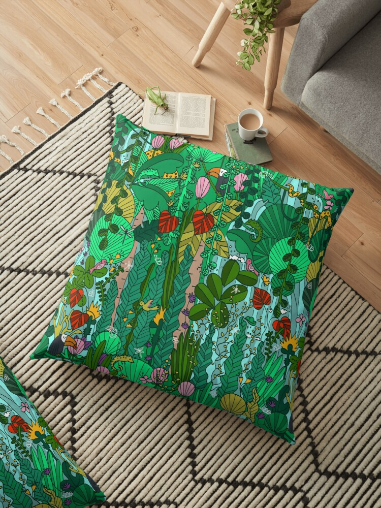 Pattern 91 - Tropical Emerald Forest by Irene Silvino