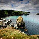 Cornwall: Fleeting Light at Mullion Cove by Angie Latham