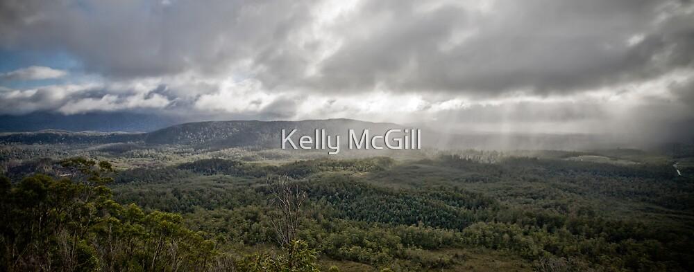 Florentine Valley, Tasmania by Kelly McGill