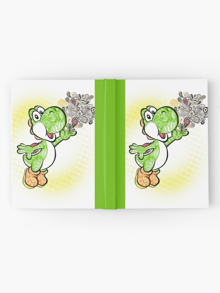 Vista alternativa de Cuaderno de tapa dura ¡Yoshi Wonderland!