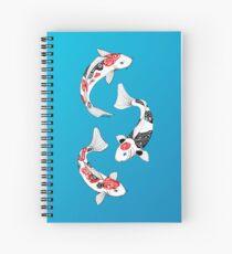 Fish carp koi (3) Cahier à spirale