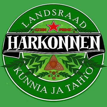 Harkonnen - Geidi Prime official imported beer. by ramox90