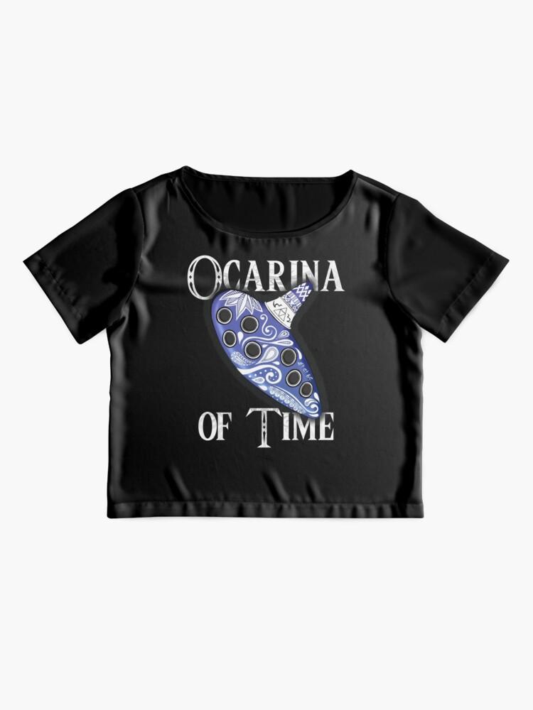 Vista alternativa de Blusa Ocarina del tiempo