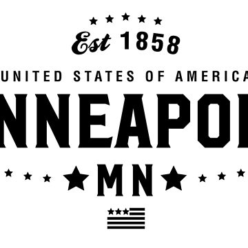 Minneapolis Minnesota Shirt State MN by CarbonClothing