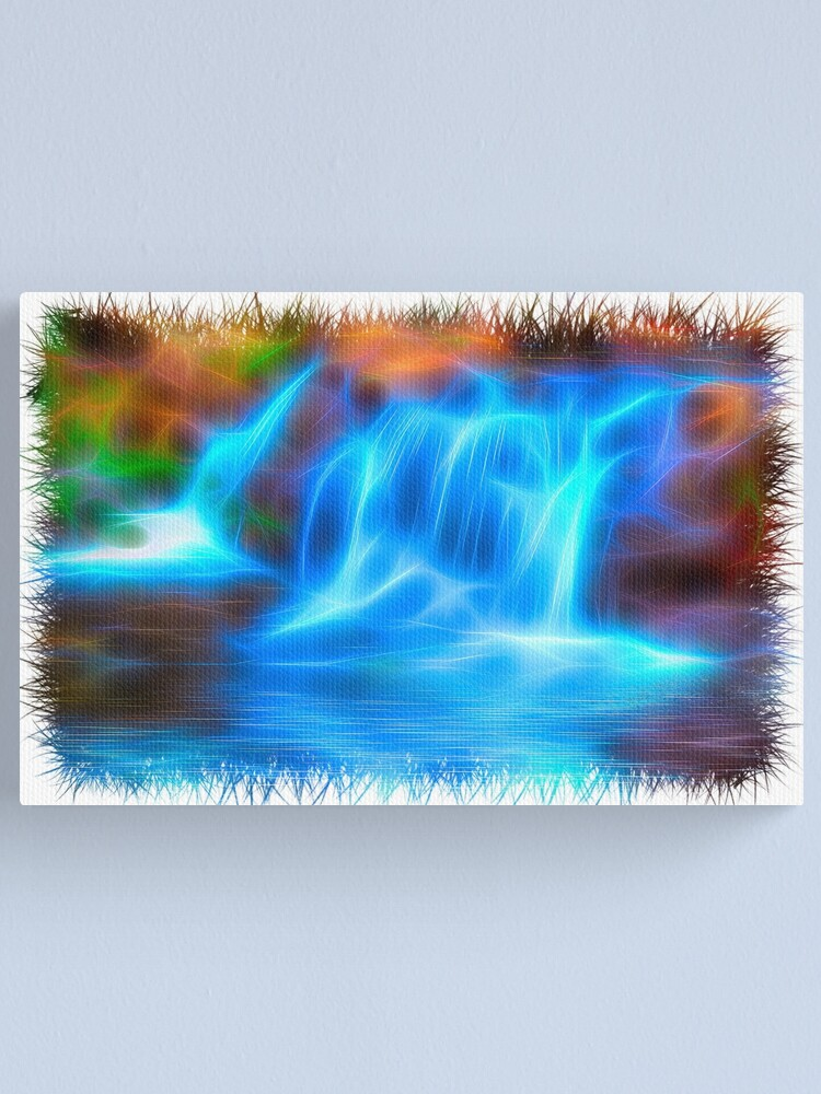Alternate view of Sparkling Waterfall Canvas Print