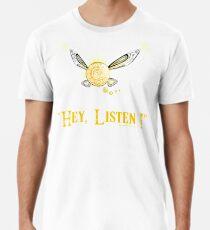 Hey! Escucha ! Camiseta premium