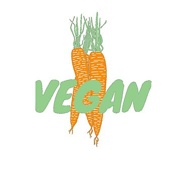 Vegan (Carrots) by veganvictor