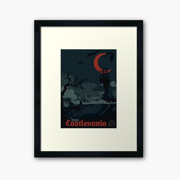 Visit Castlevania Framed Art Print