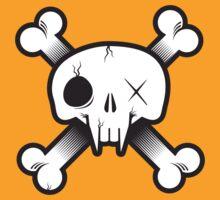 Modern Pirate Skull