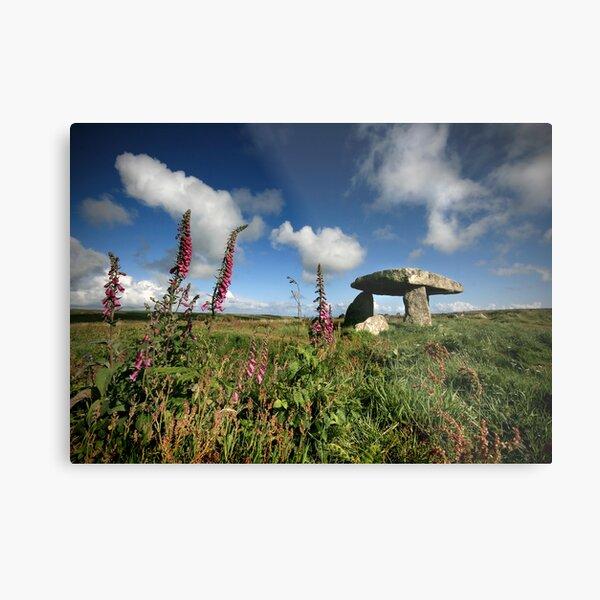 Cornwall : Lanyon Quiot Metal Print