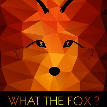 What the Fox ? multicolor by artetbe