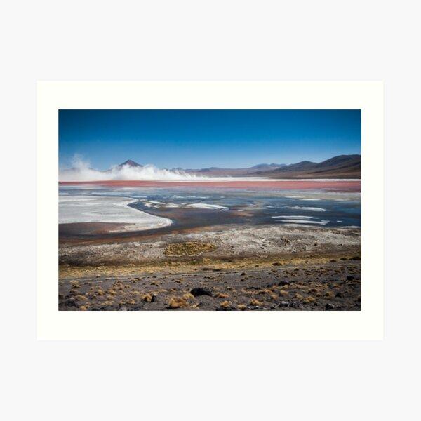 Lago Colorado Art Print