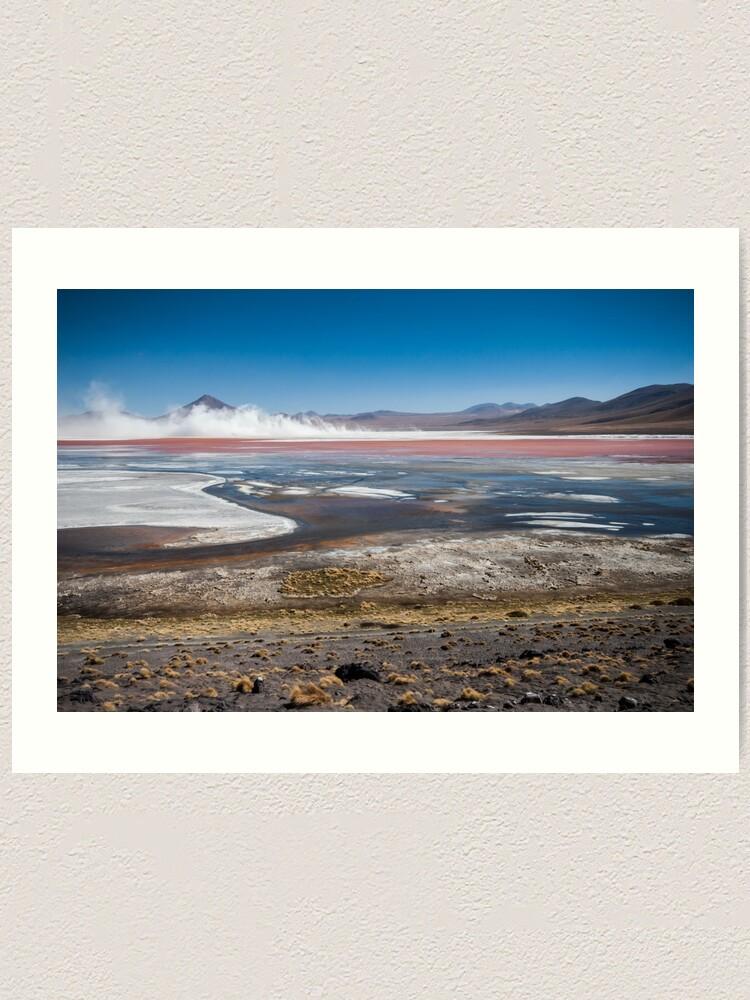 Alternate view of Lago Colorado Art Print