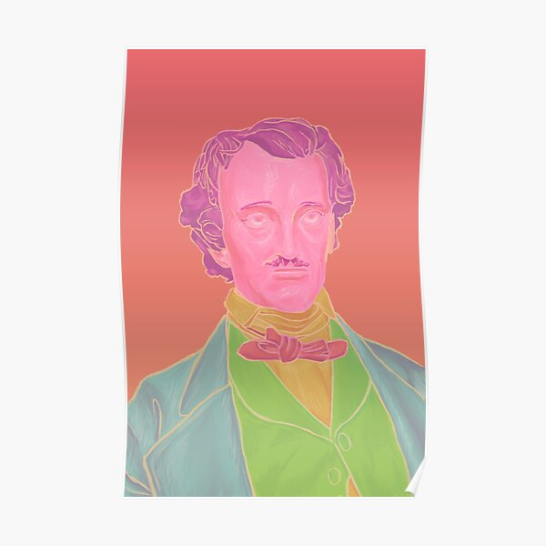 Pastel Poe Poster