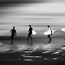 Lets go surf mono by shalisa